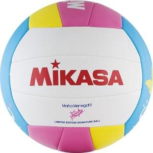 Мяч для пляжного волейбола Mikasa VMT5 р.5 (именной мяч волейболистки Marta Menegatti) цена и фото