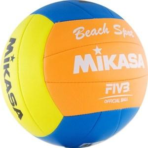 Мяч для пляжного волейбола Mikasa VXS-BSP2 Beach Spot mikasa w6608w junior