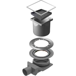 Душевой трап Pestan Ceramic 4 150 мм (13000088) коврик для мыши logitech powerplay с системой беспроводной зарядки черный [943 000110]