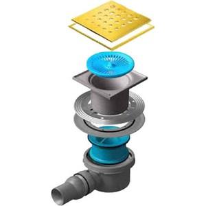 Душевой трап Pestan Drops 1 Gold 150 мм (13000148) душевой трап pestan tide 1 gold 150 мм 13000140