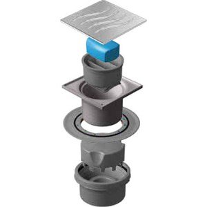 Душевой трап Pestan Vertical Dry 100 мм (13000022) душевой трап pestan square 3 150 мм 13000007