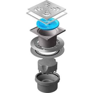 Душевой трап Pestan Vertical Square Mask 150 мм (13000076) душевой трап pestan vertical drops mask 150 мм 13000075