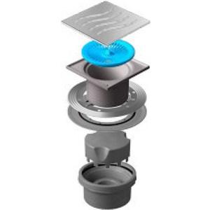 Душевой трап Pestan Vertical Tide 150 мм (13000018) душевой трап pestan vertical square mask 150 мм 13000076