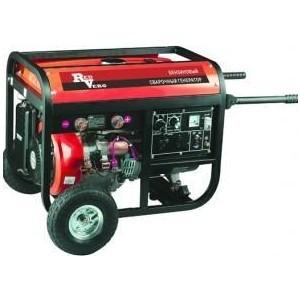 Генератор бензиновый сварочный REDVERG RD190EBW генератор бензиновый сварочный genholm ht 6800 lxw
