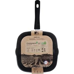 Сковорода гриль 24 см Renard Гриль Champagne (RC24G) гриль тефаль gc702