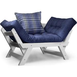 Кресло Anderson Отман эмаль-синяя рогожка. эмаль акриловая матовая синяя vgt 1 кг