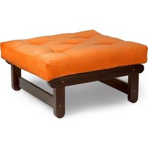 Пуфик Anderson Сламбер орех оранжевый вельвет