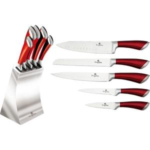 Набор ножей на подставке 6 предметов Berlinger Haus (2135-ВН)