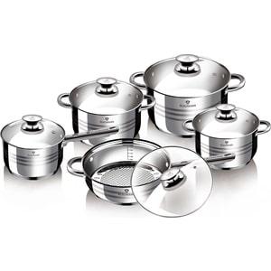 Набор посуды 10 предметов Blaumann Gourmet Line Jambo (1637-BL)