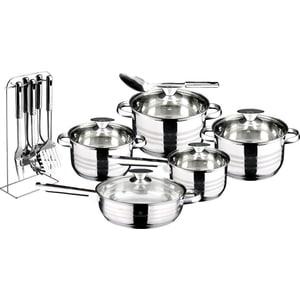 Набор посуды 17 предметов Blaumann Gourmet Line Jambo (3133-ВL)