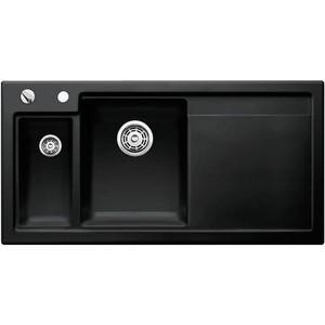 Кухонная мойка Blanco Axon II 6 S черный чаша слева (524150/516555)