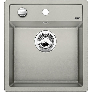 Кухонная мойка Blanco Dalago 45 жемчужный с клапаном-автоматом (520543) кухонная мойка blanco dalago 45 f silgranit жасмин с клапаном автоматом