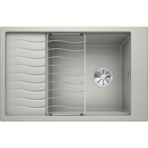 Кухонная мойка Blanco Elon XL 6 S жемчужный (520548) мойка кухонная blanco elon xl 6 s шампань с клапаном автоматом 518741