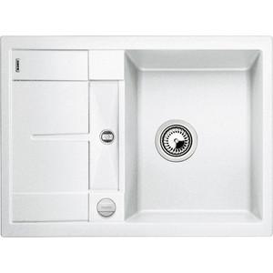 Кухонная мойка Blanco Metra 45S Compact белый (519576) кухонная мойка blancometra 6s compact шампань
