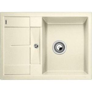 Кухонная мойка Blanco Metra 45S Compact жасмин (519577) кухонная мойка blanco metra 45s compact серый беж 519580