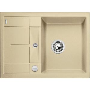 Кухонная мойка Blanco Metra 45S Compact шампань (519578) кухонная мойка blanco metra 45s compact серый беж 519580