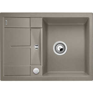 Кухонная мойка Blanco Metra 45S Compact серый беж (519580) смеситель alta compact chrome tartuf 517633 blanco