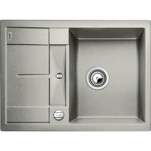 Кухонная мойка Blanco Metra 45S Compact жемчужный (520570) смеситель alta compact chrome tartuf 517633 blanco