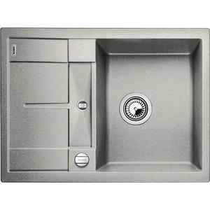 Кухонная мойка Blanco Metra 45S Compact жемчужный (520570) кухонная мойка blanco metra 45s compact серый беж 519580