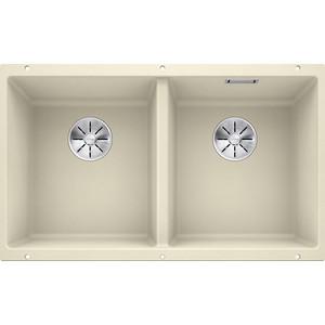 Кухонная мойка Blanco Subline 350/350-U жасмин (523579/516288) кухонная мойка pyramis alinia 65x51 1b 1d жасмин