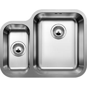 Кухонная мойка Blanco Ypsilon 550-U чаша справа с корзинчатым вентилем (518209) кухонная мойка blanco supra 180 u нерж сталь полированная с корзинчатым вентилем с коландером