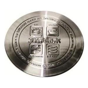 Индукционный диск d 12 см Frabosk (099.00) диск frabosk д индукционных плит 12см нерж сталь