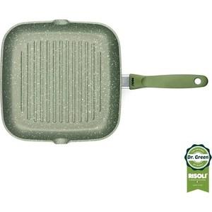 Сковорода-гриль 26x26 см Risoli Dr. Green Extra Induction (0094BDRIN/26)