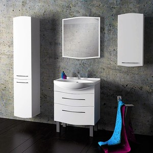 Комплект мебели Alvaro Banos Carino maximo 75, белый лак