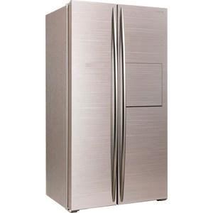 Холодильник Hiberg RFS-630D NFGY (с ручкой)