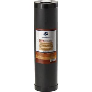 Картридж Unicorn FCFE 20BB для удаления железа из воды, с добавлением диоксида марганцевого песка картридж unicorn fcbl 20bb угольной брикет