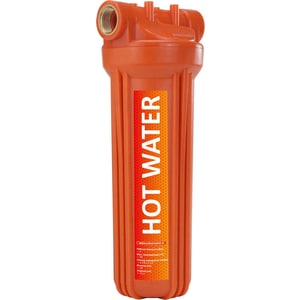 Фильтр предварительной очистки Unicorn FH2P 3/4 HOT 10 для горячей воды 3/4 фильтр предварительной очистки unicorn fh2p 1 2 duo 10 2p duo 1 2