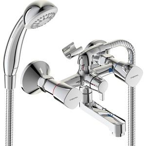 Смеситель для ванны Vidima Квадро с душем (BA344AA) смеситель с душем недорого купить