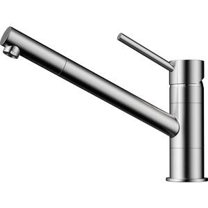 Смеситель для кухни Omoikiri Aogashima-BN нержавеющая сталь (4994246) novotech pattern 370135