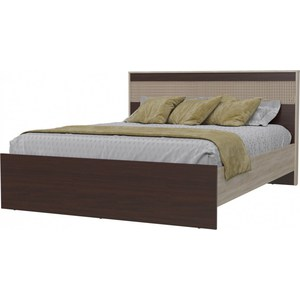 Кровать Гранд Кволити Румба 4-1824 дуб сонома/венге тумбочка мебель трия прикроватная токио пм 131 03 см дуб белфорт венге цаво