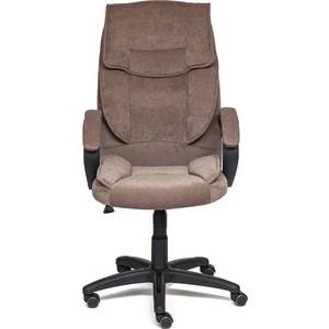 Кресло TetChair OREON флок, ткань коричневый смоки браун кресло tetchair softy хром ткань коричневый смоки браун