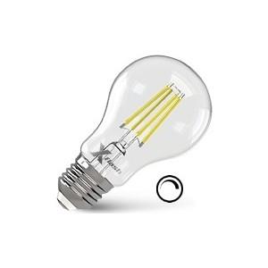 Филаментная светодиодная лампа X-flash XF-E27-FLD-A60-6W-2700K-230V (арт.48717) x flash светодиодная панель x flash xf spw 295 1195 2 40w 6000k арт 47390