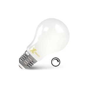 Филаментная светодиодная лампа X-flash XF-E27-FLMD-A60-6W-2700K-230V (арт.48724) светодиодная лампа no name 59 smd e27 230v 6 5w
