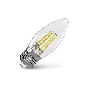 Филаментная светодиодная лампа X-flash XF-E27-FL-C35-4W-2700K-230V (арт.48861) лампа x flash светодиодная globe 4 вт xf bf e27 4w 4k 220v