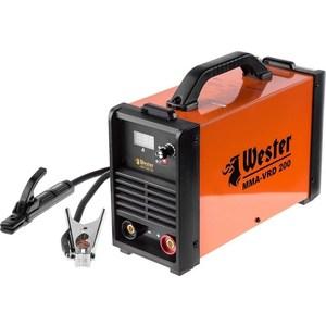 Сварочный инвертор Wester MMA-VRD 200 набор wester инвертор сварочный compact 180 ушм hammer flex usm500le