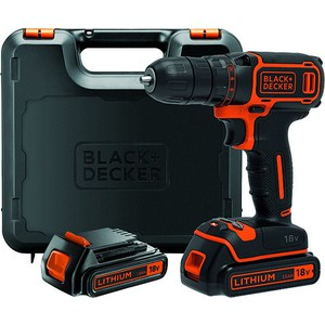 Дрели-шуруповерты аккумуляторные Black-Decker BDCDC18KB bdcdc18kb black decker bdcdc18kb