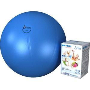 Фитбол Альпина Пласт Стандарт голубой, диаметр 450 мм