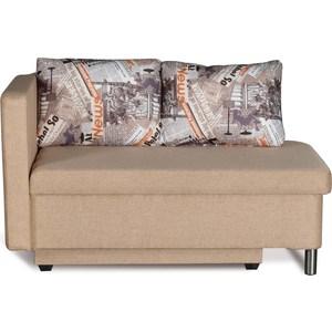 Диван-кровать СМК Эмма 126 1ек-Пф (левый) 325 беж/модерн диван кровать смк дюссельдорф 147 б 2д у1пф правый угол 390 беж