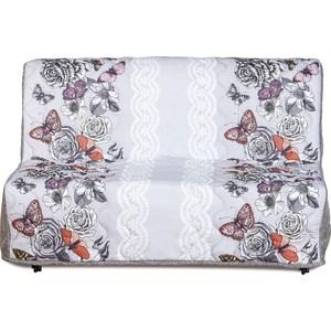 Диван-кровать СМК Изабель 155 3а 332 флауэр бельевица диван ру мк 155