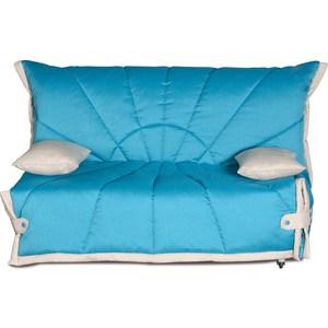Диван-кровать СМК Габриэль 150 3а 292 бирюза/милк цены онлайн