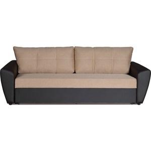 Диван-кровать СМК Вильям 125 3ек 323 беж/кор диван кровать смк дублин 136 3ек 194 сер