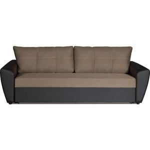 Диван-кровать СМК Вильям 125 3ек 345 темн кор диван кровать смк дюссельдорф 147 б 2д у1пф правый угол 352 alba ash