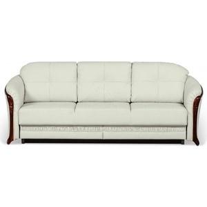 Диван-кровать СМК Лансье 138 3тт 01беж/светлый орех диван кровать смк дюссельдорф 147 б 2д у1пф правый угол 352 alba ash