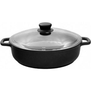Жаровня d 28 см с крышкой Традиция Комфорт (ТК9283) сковорода жаровня d 28 см вековые традиции 781