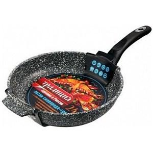 Сковорода-гриль d 24 см Традиция Мрамор (ТМ7241)