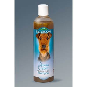 Шампунь-кондиционер BIO-GROOM Bronze Lustre Color Enhancer Shampoo бронзовый для собак 355мл (21512)